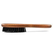 Close Beard Brush of Beech Wood