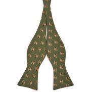 Santa's Sleigh Self-Tie Bowtie