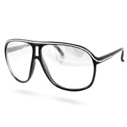 Black Clear Vintage Glasses