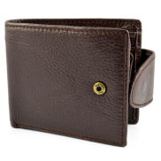 Brown Flip Leather Wallet
