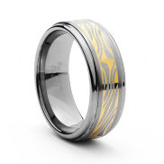 Cape 8mm Tungsten Ring