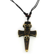 Skull Cross Nature Necklace