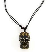 Totenkopf Natur Halskette