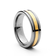 Midas 6mm Tungsten Ring