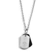 Dubbele Dog Tag Halsketting
