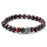 Bracelet Tigers eye rouge