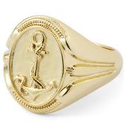 Позлатен сребърен пръстен Sailor Tribute