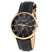 Black Copper City Sapphire Watch