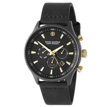 Reloj Troika negro y dorado