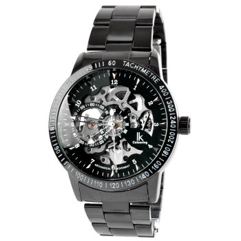 Black & Silver Rolat Watch