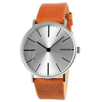 Reloj coñac plateado Cesare