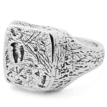 Django 925 Zilveren Zegelring