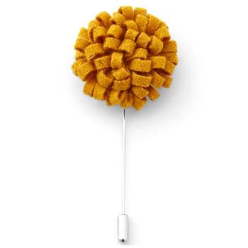Flor de solapa creativa naranja