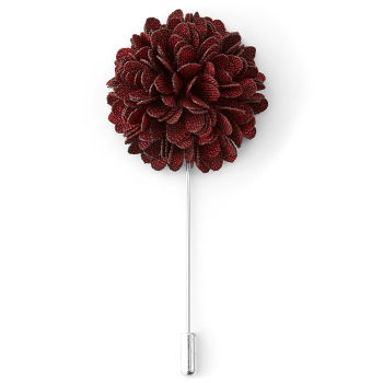 Rode bloem reversspeld