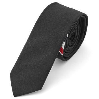 Corbata negra informal