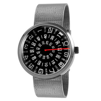 Reloj negro Interceptor