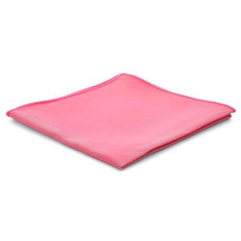Pañuelo de bolsillo básico rosa chillón