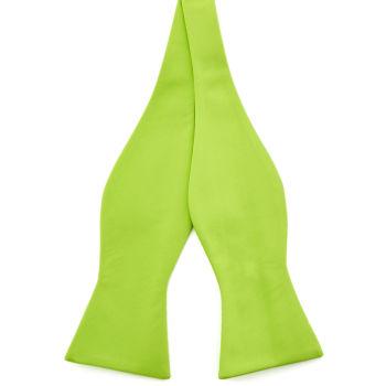 Pajarita para atar básica verde lima