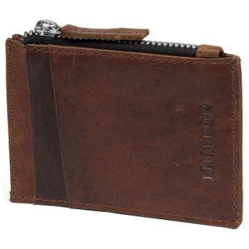 Montreal Mini Tan RFID Leather Wallet