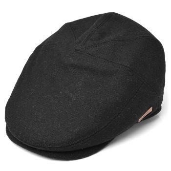 Gorra de caza Sixpence negro
