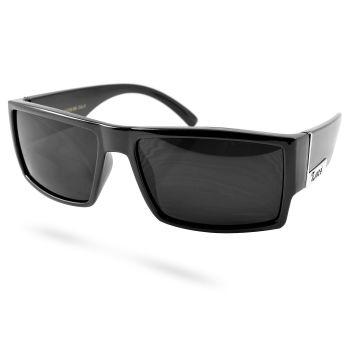 Schwarze Quadrat Sonnenbrille
