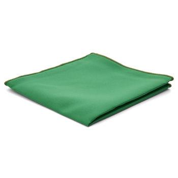 Smaragdzöld egyszerű díszzsebkendő