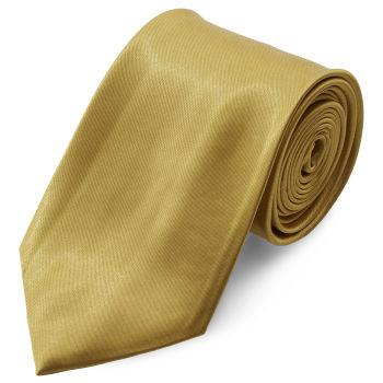 Corbata básica dorado brillante 8 cm