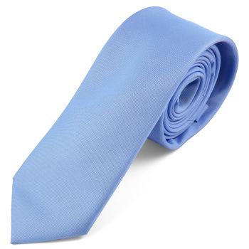 Corbata azul cielo hecha a mano
