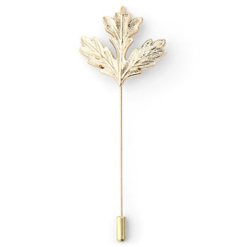 Oak Leaf Lapel Pin