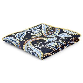 Pañuelo de bolsillo con estampado cachemira clásico