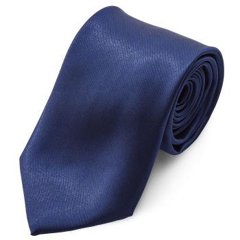 Corbata básica azul marino brillante 8 cm