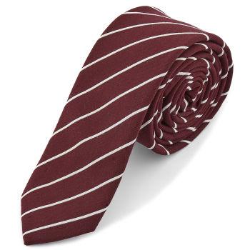 Burgunder Stripet Slips