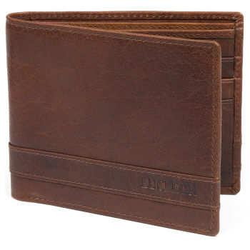 Montreal Luxury Tan RFID Leather Wallet