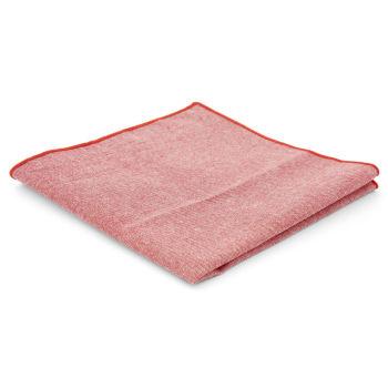 Pañuelo de bolsillo de algodón rosa