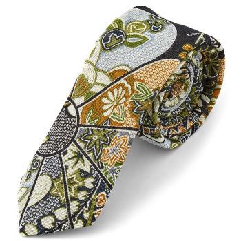 Corbata con estampado alegre