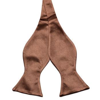 Pajarita para atar marrón