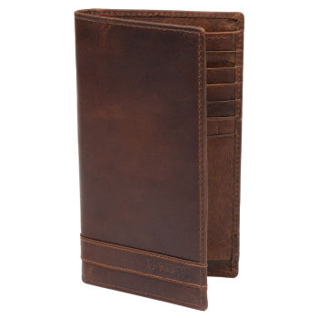 Montreal Long Tan RFID Leather Wallet