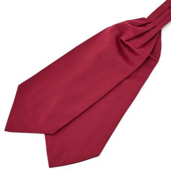 Burgundy Basic Cravat