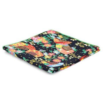 Pañuelo de bolsillo psicodélico colorido