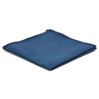 Pañuelo de bolsillo básico azul petróleo