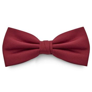 Burgundy Basic Bow Tie