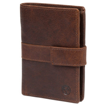 Montreal Executive Tan RFID Leather Wallet