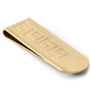 Prendedor de Notas Dourado Egípcio