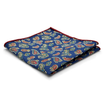 Navy Paisley Pocket Cloth