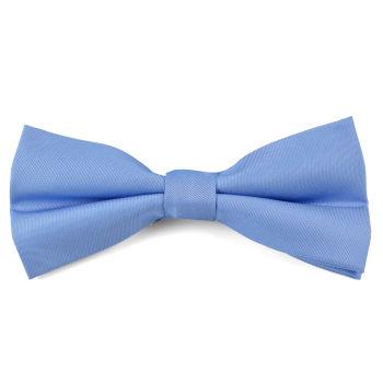 Pajarita básica azul cielo