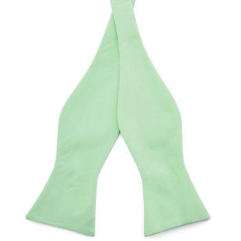 Pajarita para atar básica verde menta