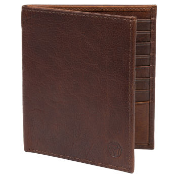 Montreal 13 Slot Tan RFID Leather Wallet