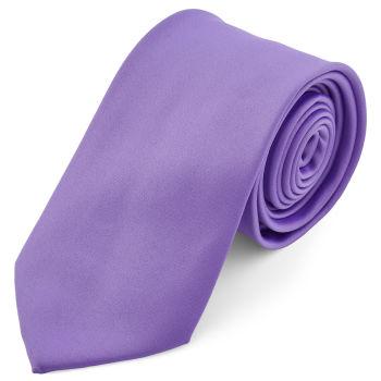 Gravata Básica Roxo Claro de 8 cm