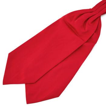 Roter Basic Krawattenschal