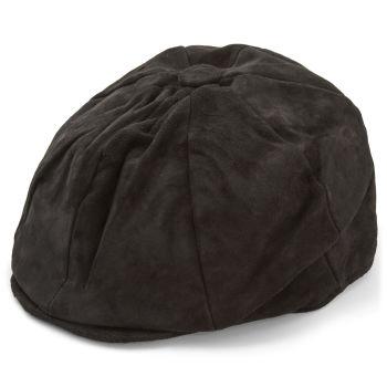 Gorra plana y holgada color negro
